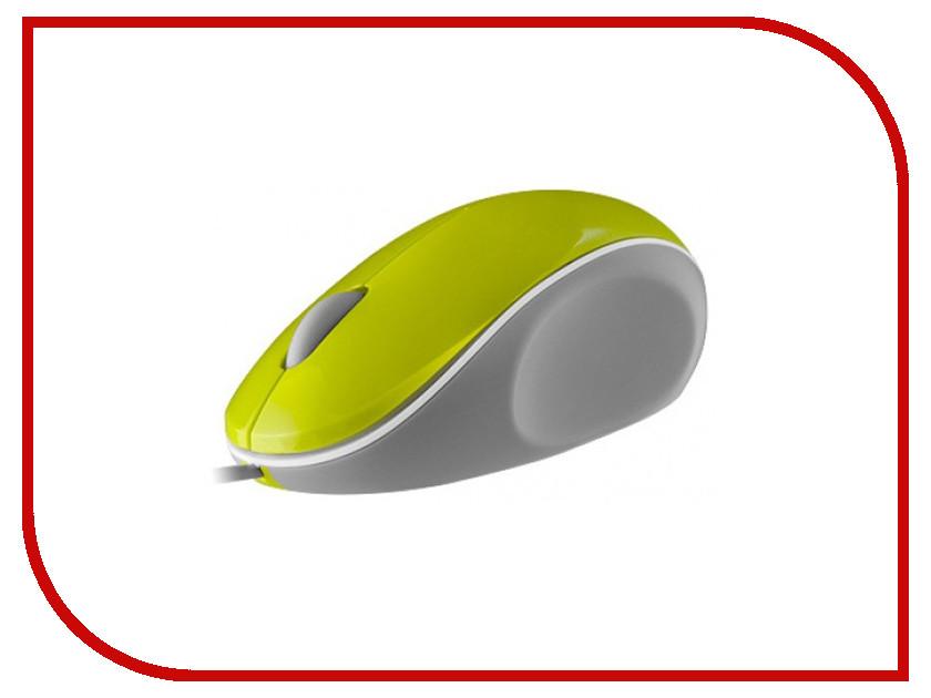 Мышь проводная iCON7 Q7 Green USB<br>