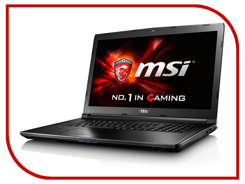 Ноутбук MSI GL72 6QC-054XRU 9S7-179675-054 Intel Core i5-6300HQ 2.3 GHz/4096Mb/500Gb/DVD-RW/nVidia GeForce GTX 940MX 2048Mb/Wi-Fi/Bluetooth/Cam/17.3/1920x1080/DOS<br>