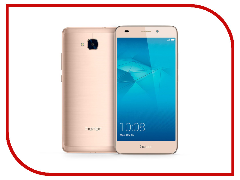 Сотовый телефон Huawei Honor 5C Gold смартфон huawei honor 5c серый