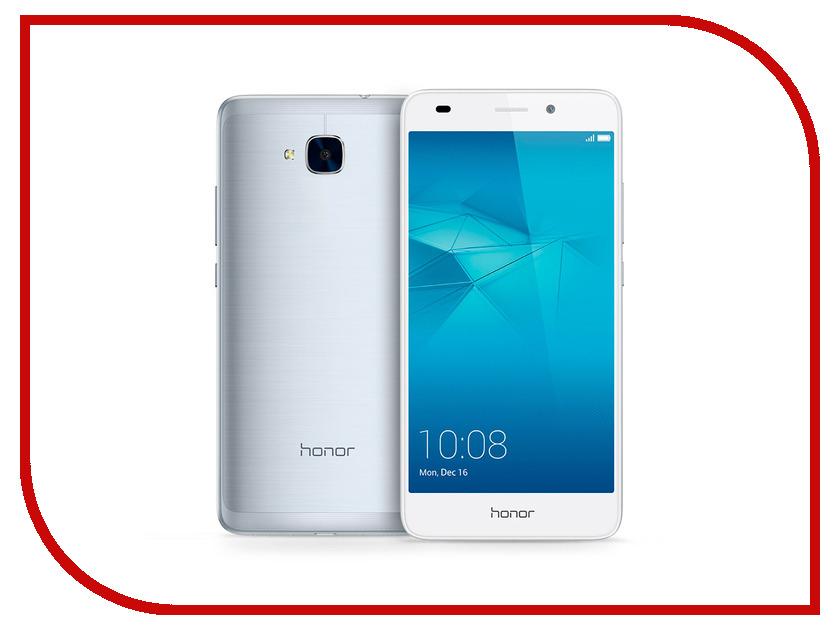 Сотовый телефон Huawei Honor 5C Silver сотовый телефон huawei honor 6x 32gb silver