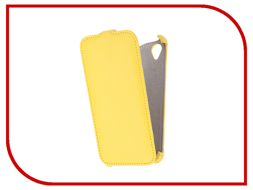 Аксессуар Чехол Sony Xperia X Performance Activ Flip Case Leather Yellow 57565
