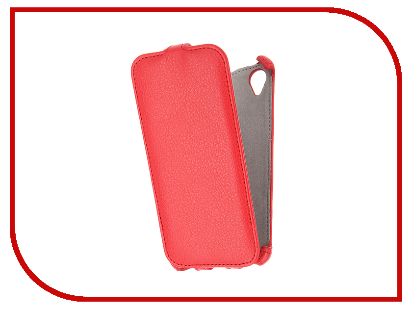 Аксессуар Чехол Sony Xperia X Performance Activ Flip Case Leather Red 57562