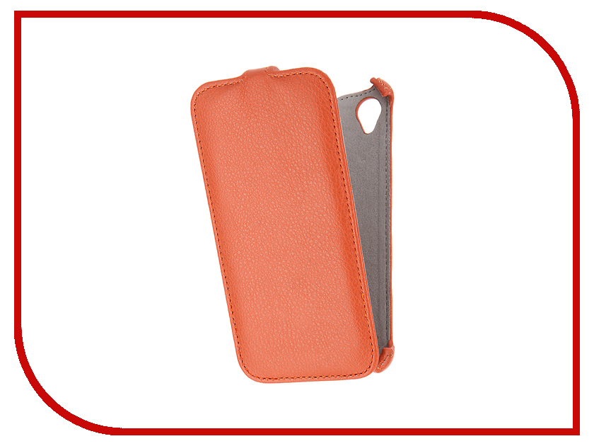 Аксессуар Чехол Sony Xperia X Performance Activ Flip Case Leather Orange 57561