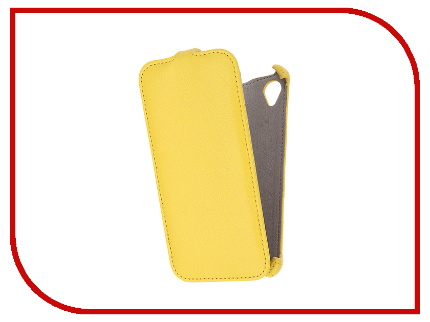Аксессуар Чехол Sony Xperia X Activ Flip Case Leather Yellow 57559<br>