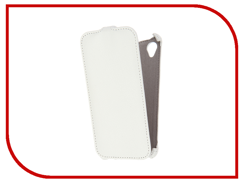Аксессуар Чехол Sony Xperia X Activ Flip Case Leather White 57558