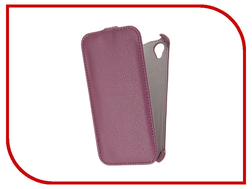 Аксессуар Чехол Sony Xperia X Activ Flip Case Leather Violet 57557