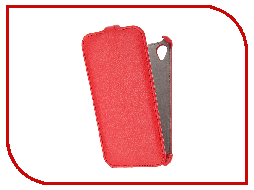 Аксессуар Чехол Sony Xperia X Activ Flip Case Leather Red 57556