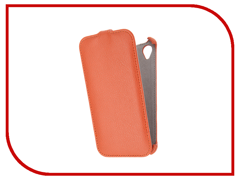 Аксессуар Чехол Sony Xperia X Activ Flip Case Leather Orange 57555<br>