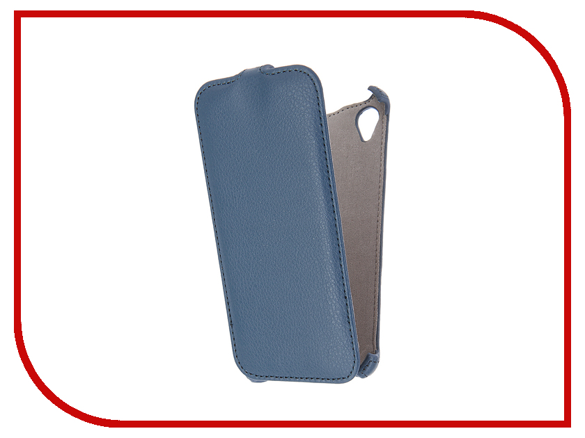 Аксессуар Чехол Sony Xperia X Activ Flip Case Leather Blue 57554