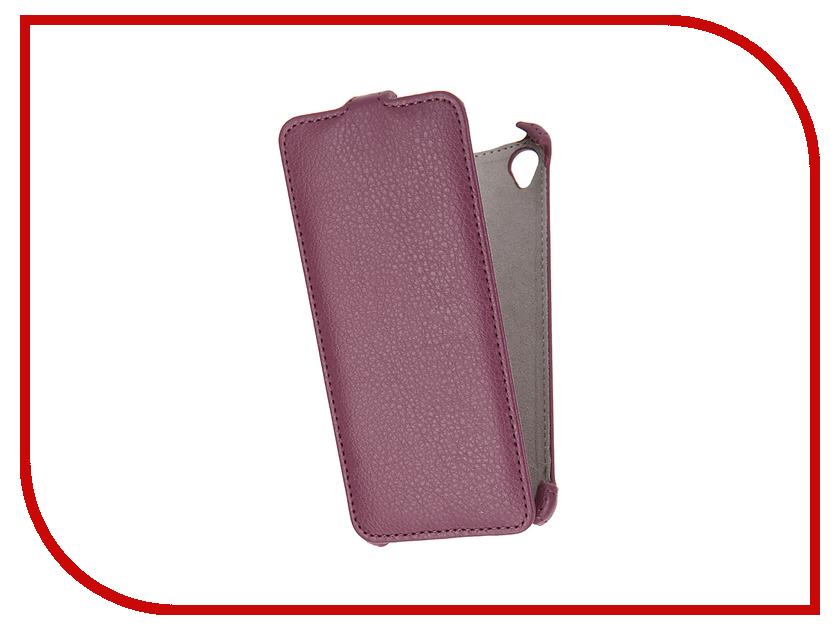 Аксессуар Чехол Sony Xperia XA Activ Flip Case Leather Violet 57569<br>