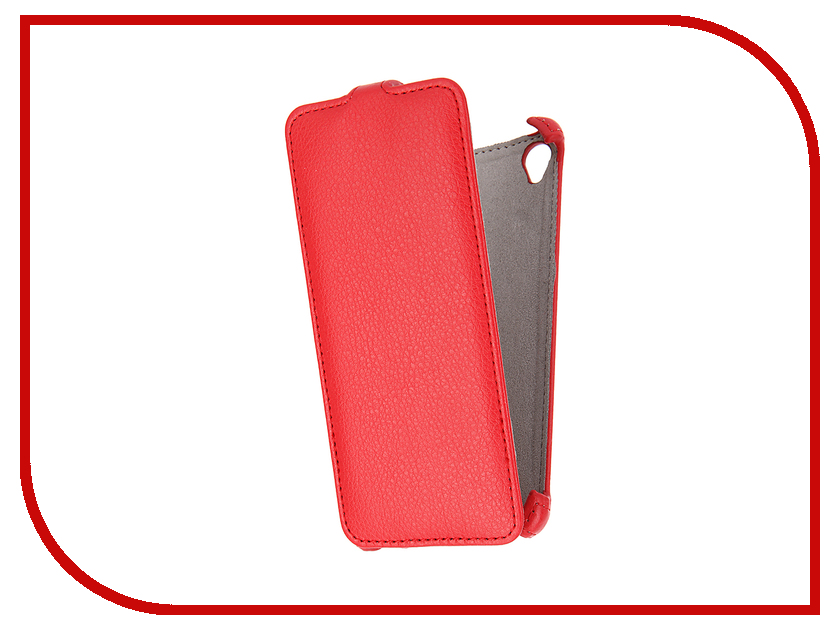 Аксессуар Чехол Sony Xperia XA Activ Flip Case Leather Red 57568<br>