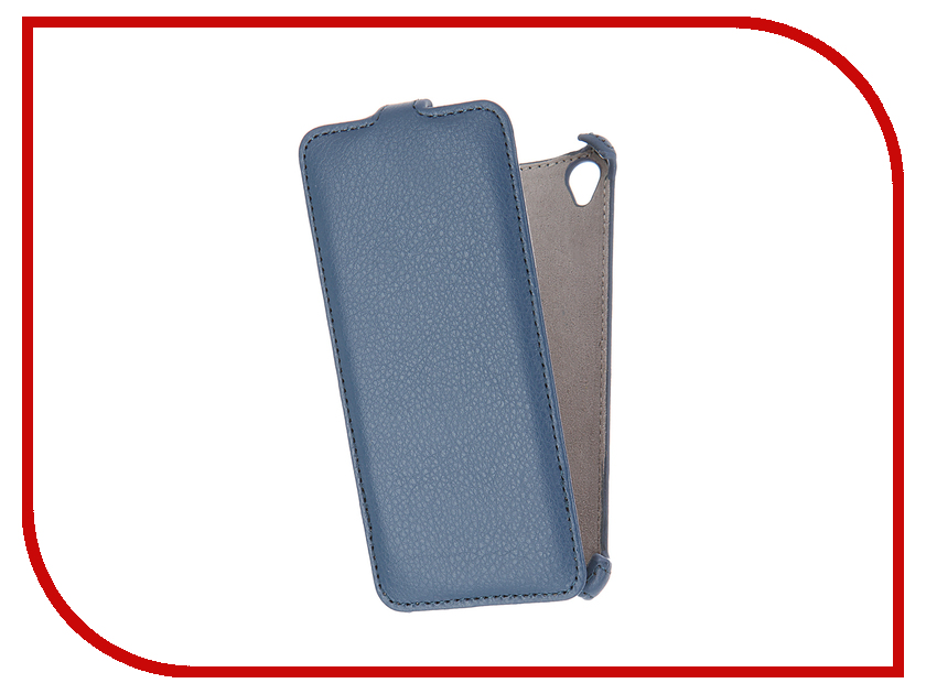 Аксессуар Чехол Sony Xperia XA Activ Flip Case Leather Blue 57566<br>