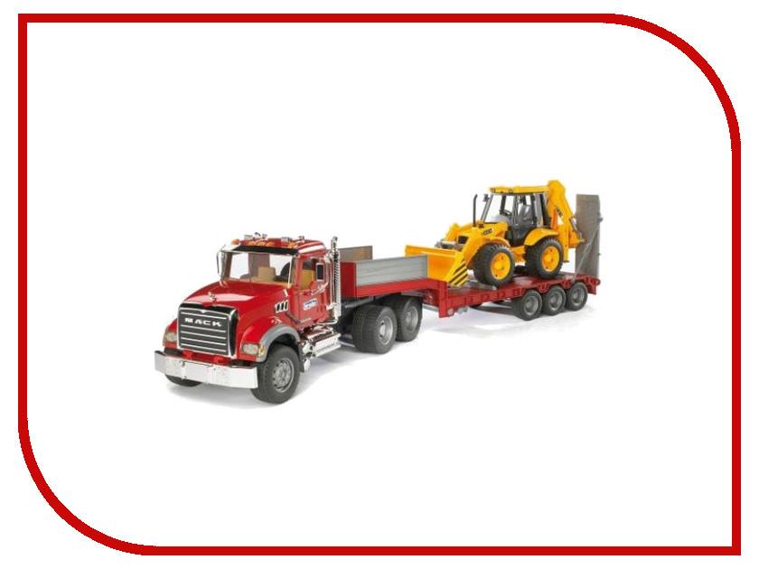 Игрушка Bruder MACK Granite Truck тягач 02-813 bruder мусоровоз mack 02 812