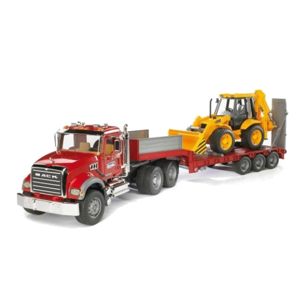 Фото - Игрушка Bruder MACK Granite Truck тягач 02-813 813 ottotredici палантин