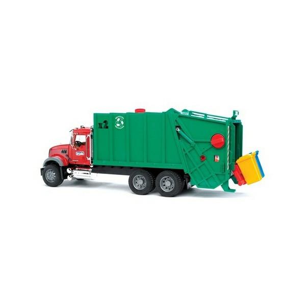 Игрушка Bruder MACK мусоровоз 02-812
