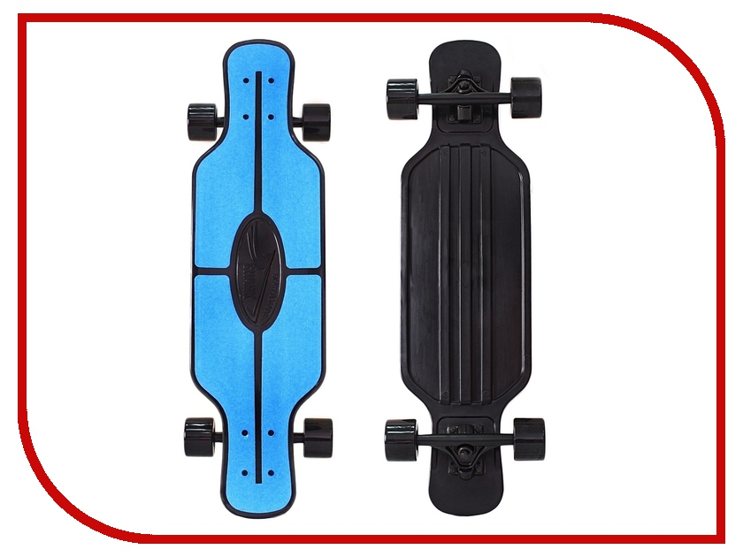 Скейт Y-SCOO Longboard Shark Tir 31 Blue-Black 408-B