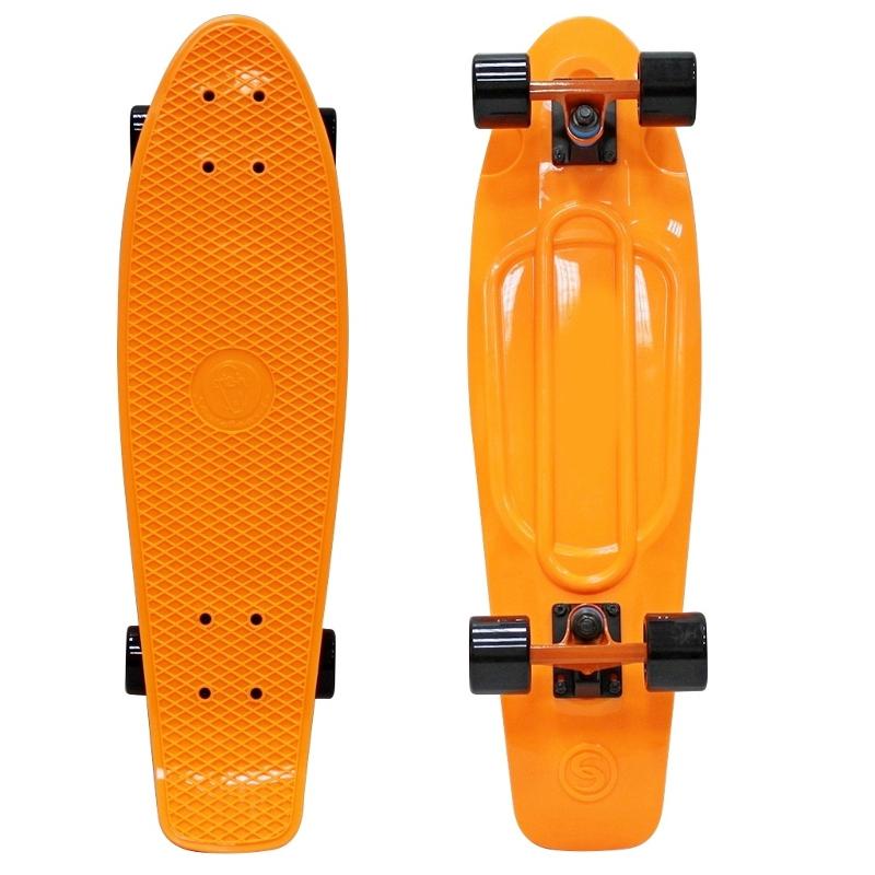 Скейт Y-Scoo Big Fishskateboard 27 Orange-Black 402-O