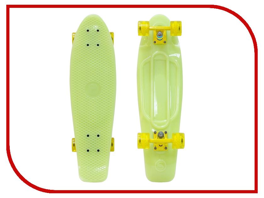 Скейт Y-SCOO Big Fishskateboard Glow 27 Yellow-Yellow 402E-Y