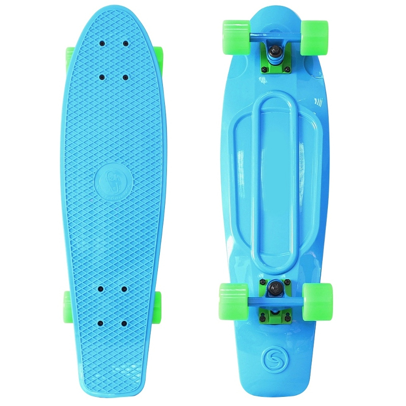 Скейт Y-Scoo Big Fishskateboard 27 Blue-Green 402-B