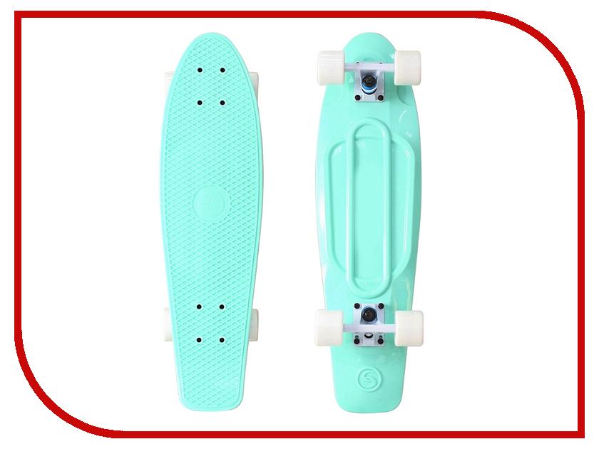 Скейт Y-SCOO Big Fishskateboard 27 Aqua-White 402-A