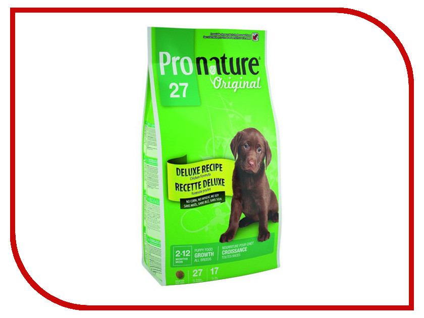 Корм Pronature 27 Цыпленок 2.72kg для щенков 102.555<br>