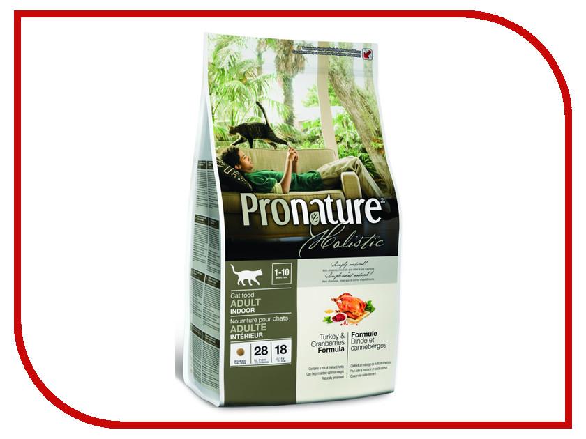 Корм Pronature Holistic Индейка/Клюква 340g для кошек 102.2026