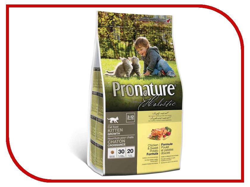 Корм Pronature Holistic Курица/Картофель 340g для котят 102.2040