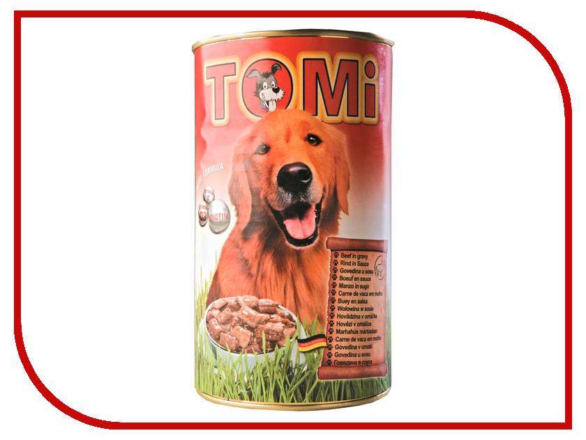 Корм TOMI Говядина 400g 133.011 для собак