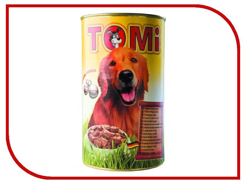 Корм TOMI 3 вида птицы 400g 133.012 для собак