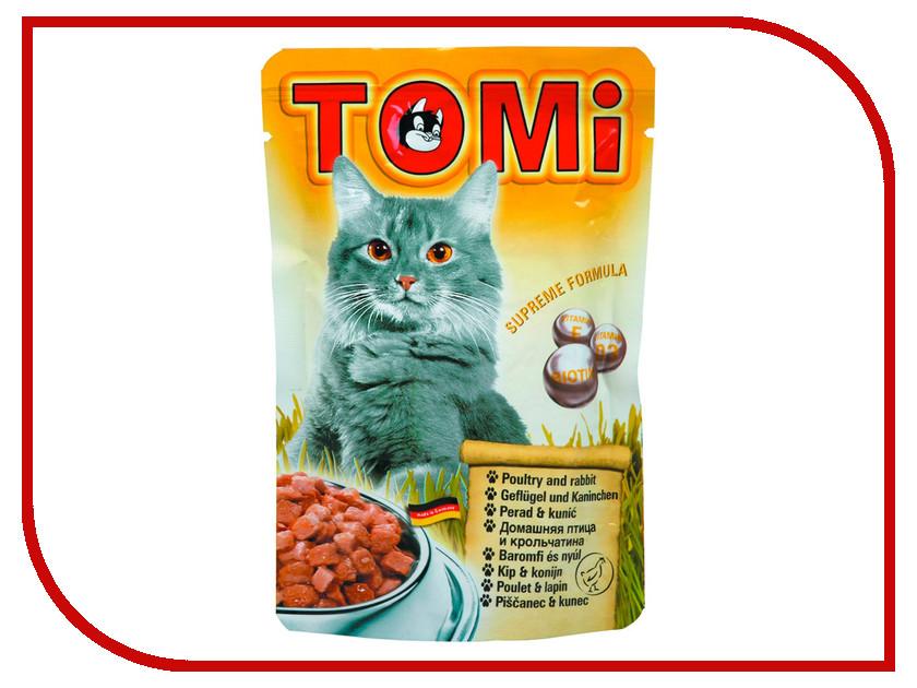 Корм TOMI Птица/Кролик 100g 133.022 для кошек