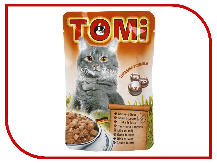 Корм TOMI Гусь - печень 100g 133.023 для кошек