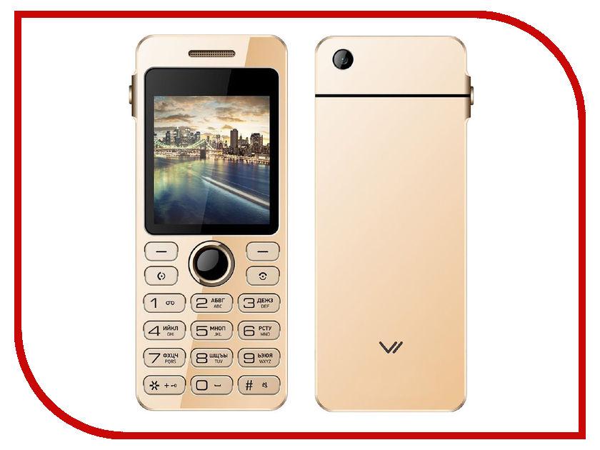 Сотовый телефон Vertex D512 Gold