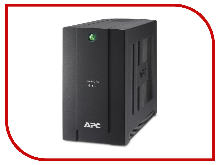 Источник бесперебойного питания APC Back-UPS RS 650VA 360W BC650-RSX761 источник бесперебойного питания apc back ups bc650 rsx761 bc650 rsx761