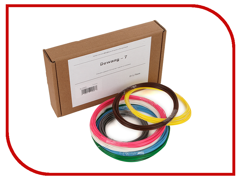 Аксессуар Dewang PLA-7 пластик