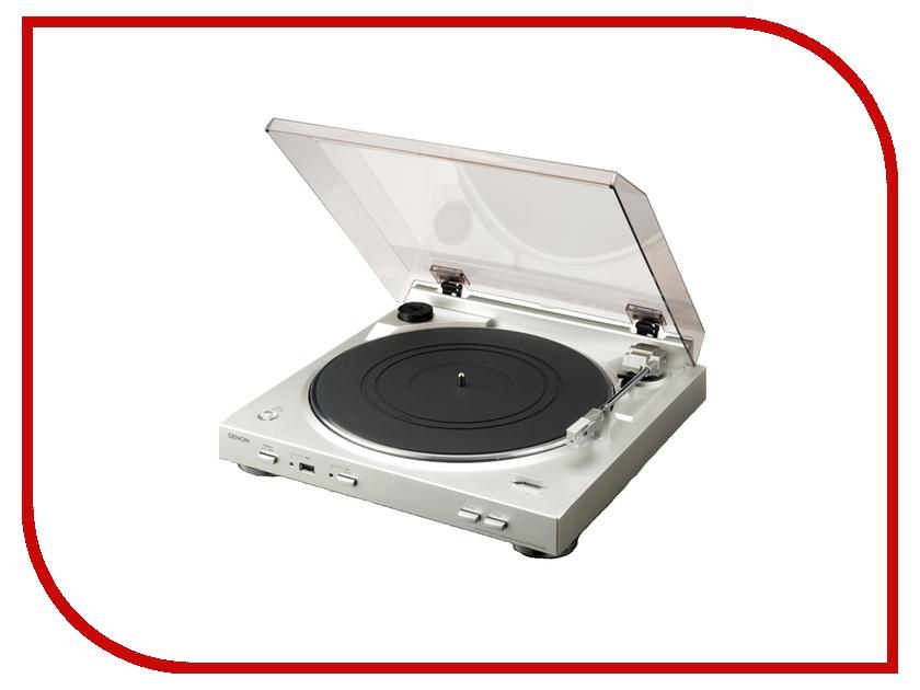 где купить Проигрыватель виниловых дисков Denon DP-200 Silver дешево