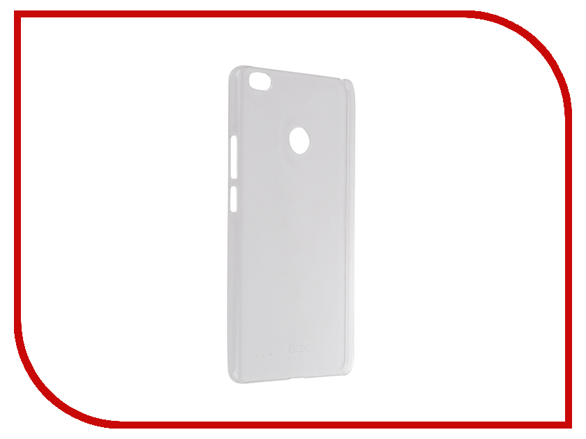 Аксессуар Чехол Xiaomi Mi Max SkinBox Crystal 4People Transparent T-S-XMM-007<br>
