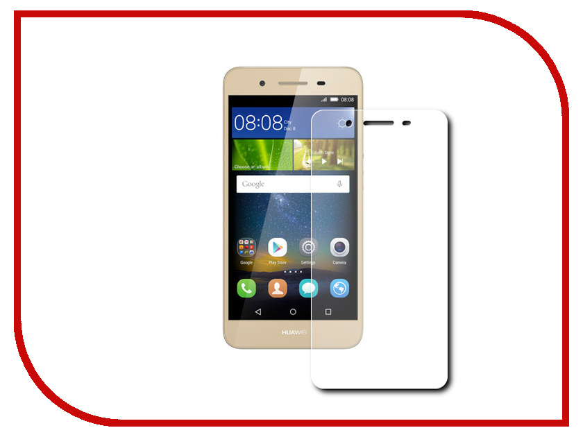Аксессуар Защитное стекло Huawei GR3 Finity 2.5D 0.3mm