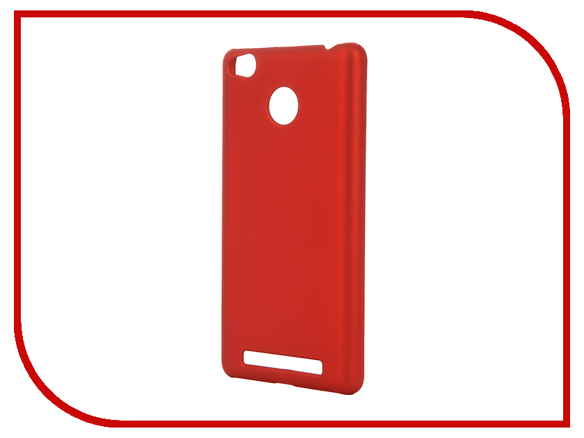 Аксессуар Чехол Xiaomi Redmi 3 Pro SkinBox Shield 4People Red T-S-XR3P-002<br>