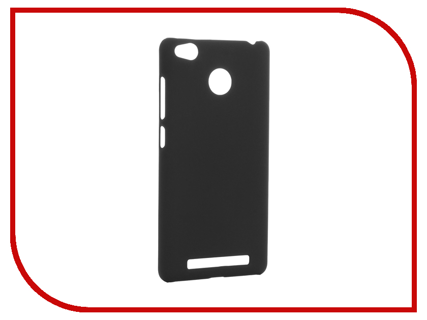 Аксессуар Чехол Xiaomi Redmi 3 Pro SkinBox Shield 4People Black T-S-XR3P-002
