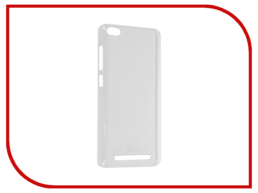 Аксессуар Чехол Xiaomi Redmi 3 SkinBox Crystal 4People Transparent T-S-XR3-007<br>