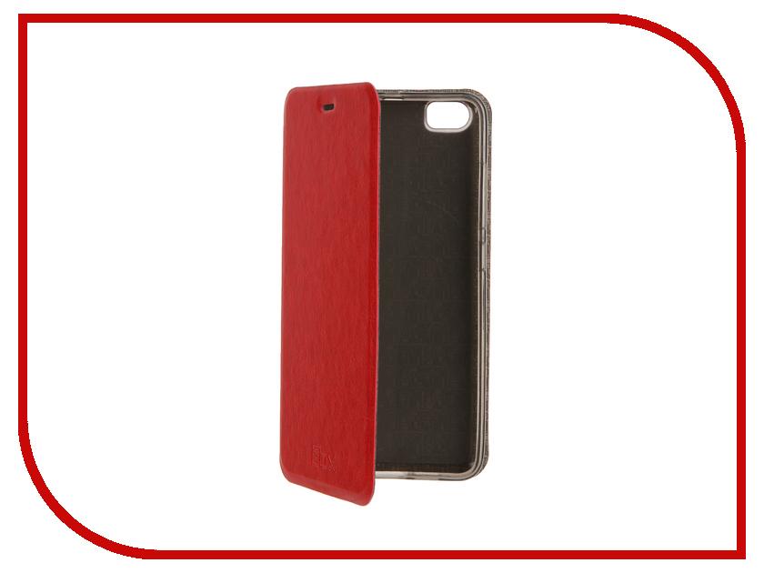 Аксессуар Чехол Xiaomi Mi5 SkinBox Lux Red T-S-XM5-003