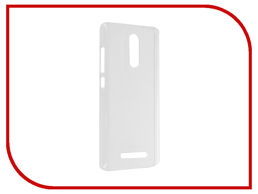Аксессуар Чехол Xiaomi Redmi Note 3 SkinBox Crystal 4People Transparent T-S-XRN3-007
