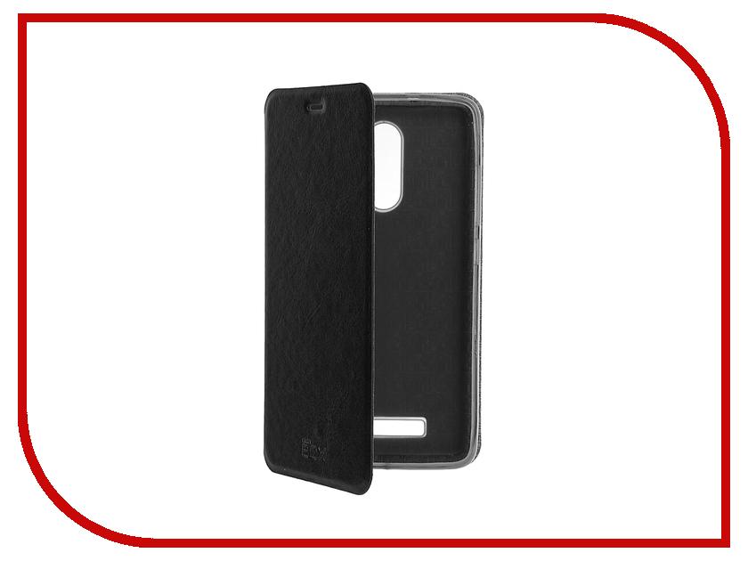 Аксессуар Чехол Xiaomi Redmi Note 3 SkinBox Lux Black T-S-XRN3-003<br>