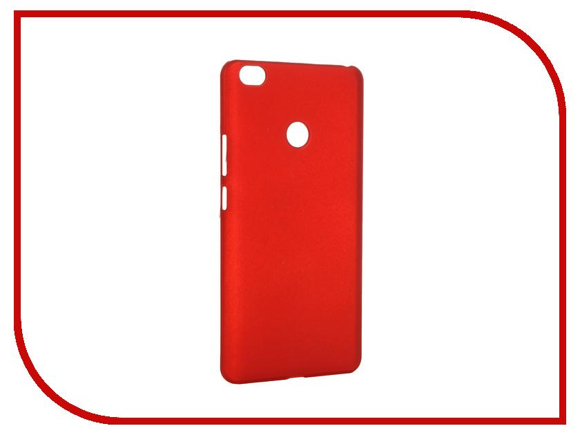 Аксессуар Чехол Xiaomi Mi Max SkinBox Shield Case 4People Red T-S-XMM-002