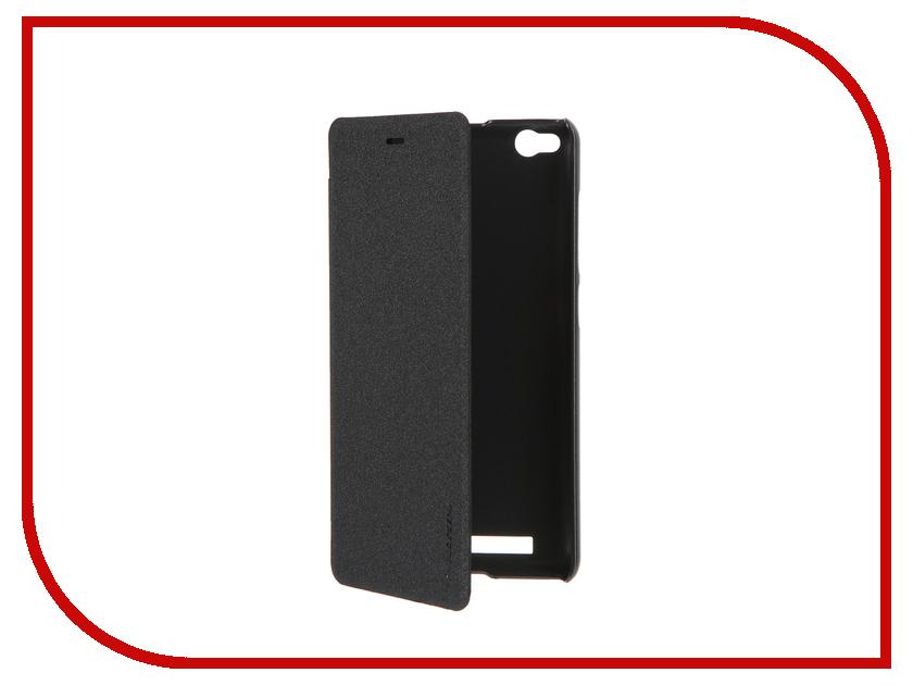 Аксессуар Чехол Xiaomi Redmi 3 Nillkin Sparkle Black<br>