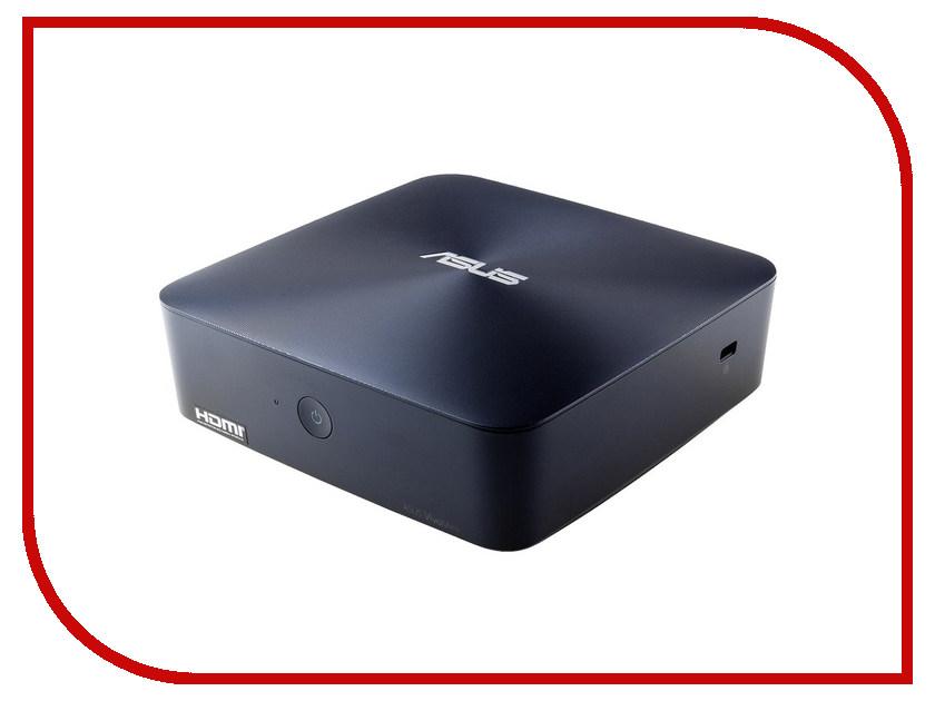 Неттоп ASUS VivoPC UN45H-DM013Z Blue 90MS00R2-M00130 (Intel Celeron N3150 1.6 GHz/2048Mb/500Gb/Intel HD Graphics/Wi-Fi/Windows 10) 374508<br>