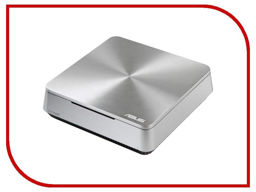 Неттоп ASUS VivoPC VM42-S223Z Silver 90MS00B1-M02230 (Intel Celeron 2957U 1.4 GHz/2048Mb/500Gb/Intel HD Graphics/Wi-Fi/Windows 10) 374519<br>