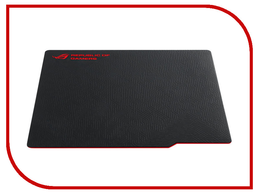 Коврик ASUS ROG Whetstone Black-Red rog front base