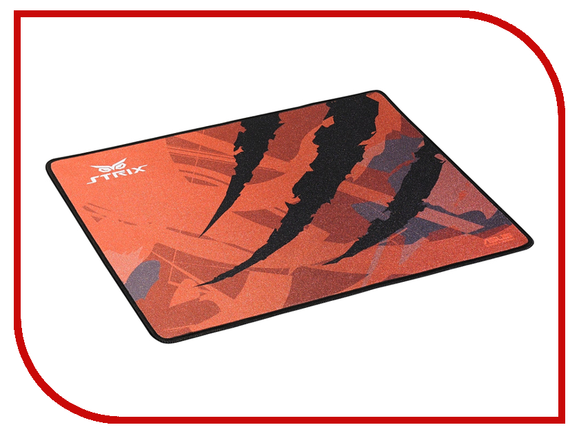 Коврик ASUS Strix Glide Speed Orange-Black asus strix tactic pro