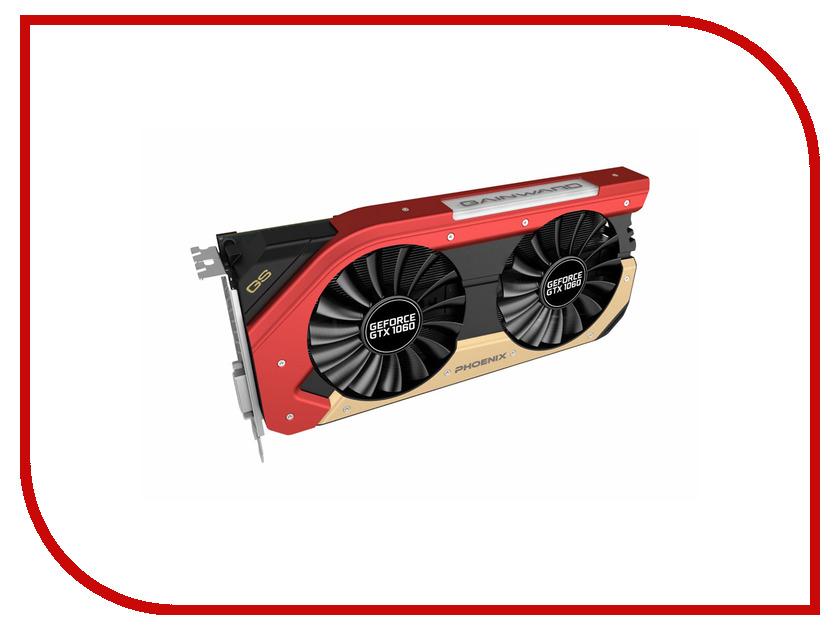 Видеокарта Gainward GeForce GTX 1060 1620Mhz PCI-E 3.0 6144Mb 4000Mhz 192 bit DVI HDMI HDCP GTX1060 Phoenix GS NE51060015J9-1060X<br>